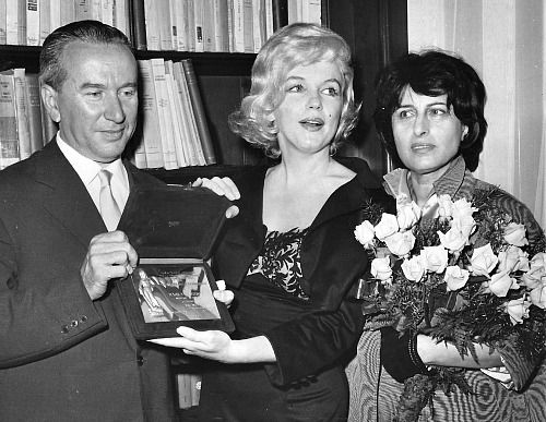Marilyn Monroe and Anna Magnani