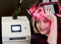 Лазерна диадема спира косопада