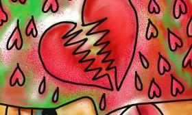 Сърце, разсечено на две