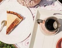 Тарта с рикота и какао
