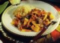 Къри с ананас