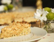 Солена тарта с тиквички и моцарела