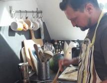 Мъже готвят. Пълнените чушки на Райчо Ангелов