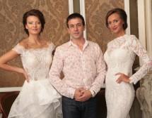 Диляна Попова представя сватбените рокли на Христо Чучев