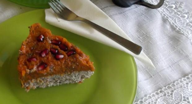 Кокосова торта с тиквен крем