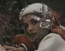 """Йосиф Сърчаджиев, Константин Коцев и Аня Пенчева за """"Време разделно"""" през 1987 г."""