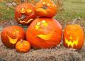 Тиквена украса за Хелоуин