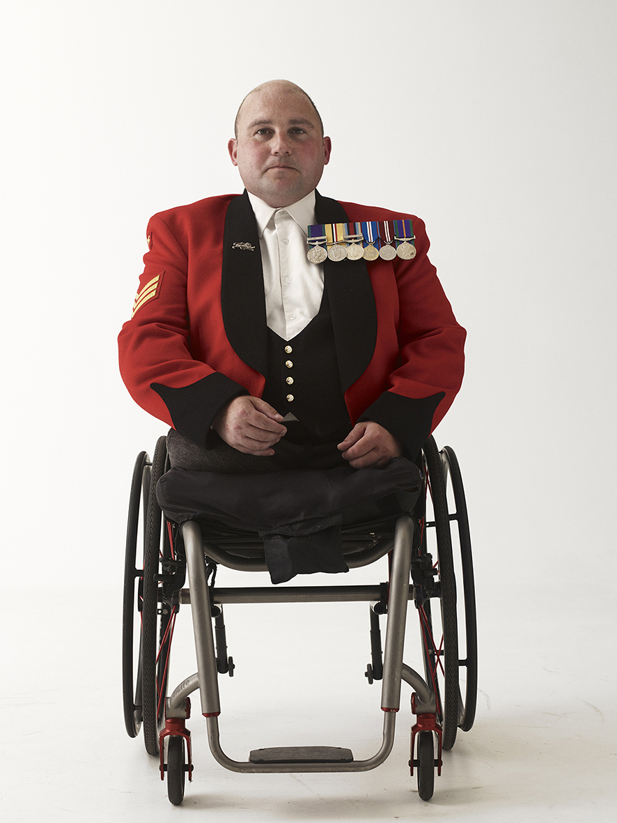 Sergeant Rick Clement, London 2011