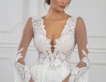 Зимната сватбена рокля е още по-красива