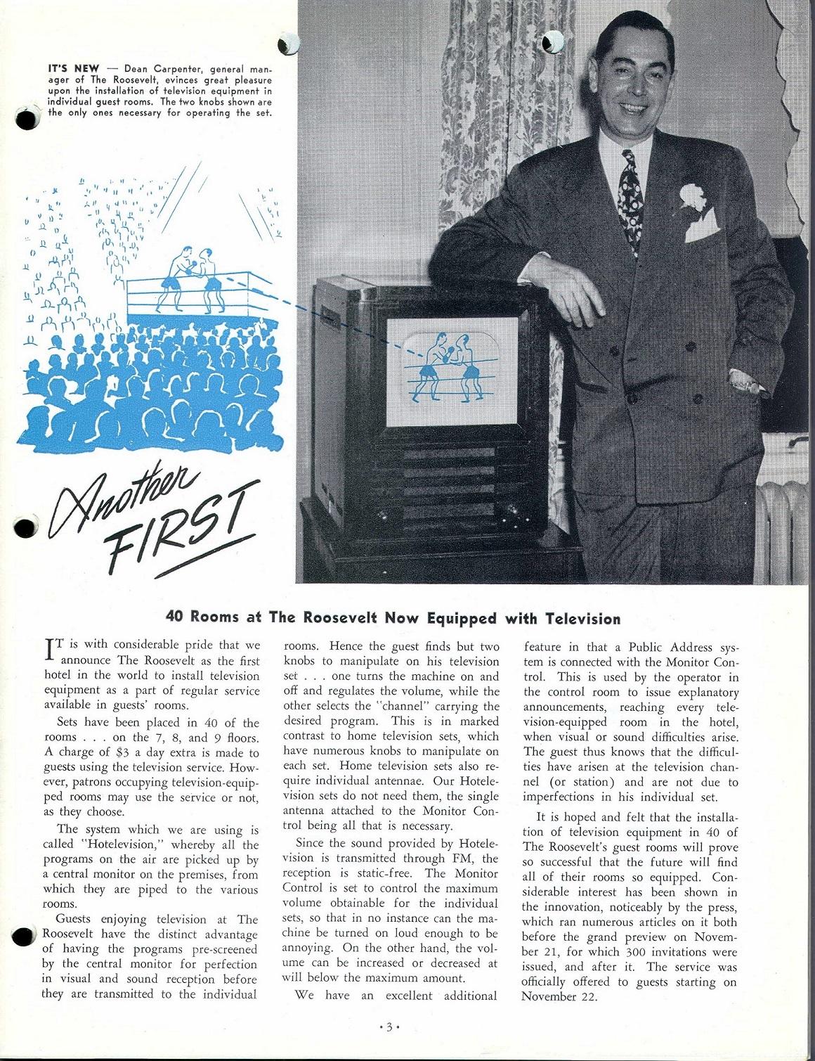 Television Article Hilton Feb 1948