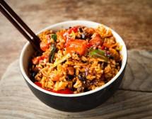 Китайски ориз със зеленчуци