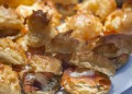 Еклери с крема сирене, хайвер и пушена сьомга