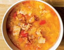 Зимна супа със свинско