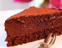 Шоколадово-портокалова трюфелова торта