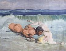 Голо мъжко тяло в Художествената галерия