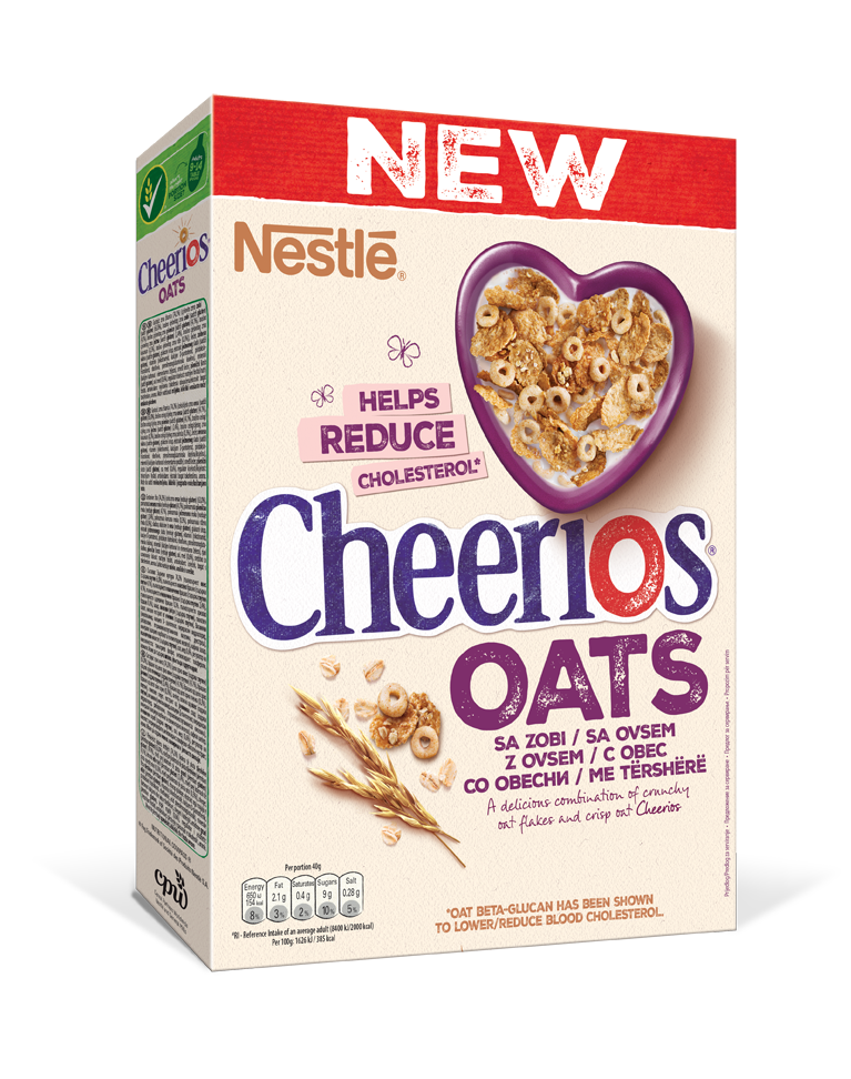Cheerios Oats 350 g 3D