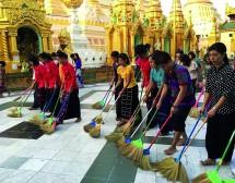 Мианмар, моя любов