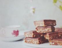 Шоколадово-карамелен сладкиш без глутен