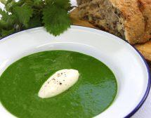 Крем супа от коприва