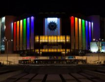 НДК светва в цветовете на дъгата за София Прайд