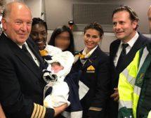 Българче се роди в самолет над Атлантика