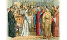 Короната, църквата и белите гъски