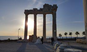 Храмът на Аполон в Сиде – където Клеопатра срещна Антоний