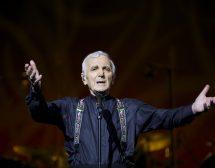 Шарл Азнавур пристига в София с вино от личното си шато