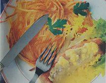 Пиле със сос от горчица