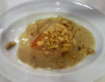 Турска сладка тиква с тахан и орехи