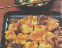 Рибно филе с кисело-сладък сос