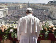 Папата откри Исус в децата на войните