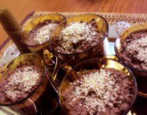 Шоколадов мус с кокос и джинджифил