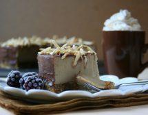Шоколадово-бананова торта без печене