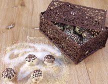 Шоколадовата кутия с бонбони на Христина Колева
