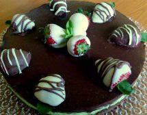 Торта с мента и шоколад