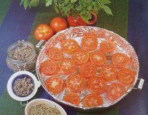 Как да си направим сушени домати