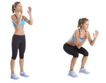 20 домашни упражнения за отслабване (видео)
