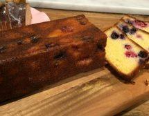 Безглутенов кекс с горски плодове