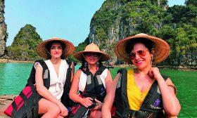 Три жени във Виетнам