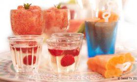 Трио плодови десерти