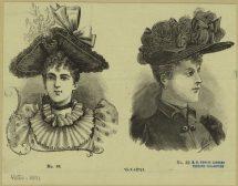 Метаморфозите на дамската шапка