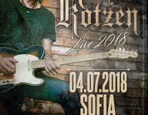 Китаристът Richie Kotzen ще свири утре в София