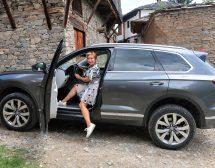 С новия VW Touareg до каменна Ковачевица