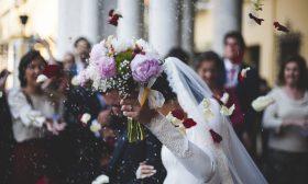 За жененето