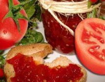 Конфитюр от червени домати