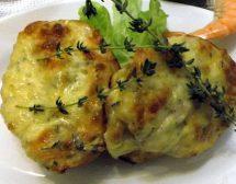 Запечени круши със синьо сирене