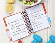 Как да си изготвим хранителен режим за отслабване