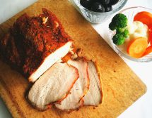 Печено паприковано свинско филе