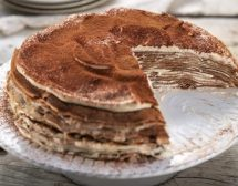 Палачинкова торта тирамису